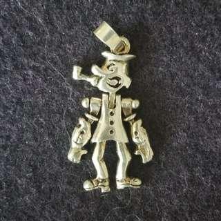 全新大力水手925純銀鏈咀 Brand new 925 silver Popeye charm