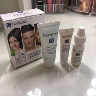 Acne clearing trio