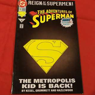 Adventures of Superman Vol 1 / 4th in the 1993 Reign of the Supermen arc #comics #superman