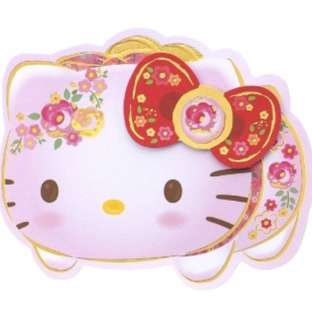 Chinese new year Hello kitty diecut red packets