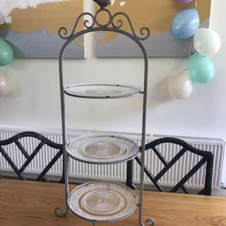 3 tier cake or food stand