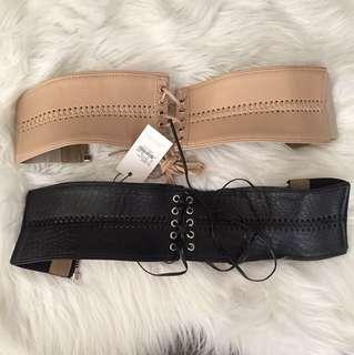 Bardot waist/ corset belt