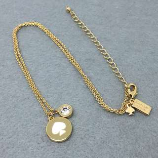 Kate Spade New York Sample Necklace 白色配金色頸鏈