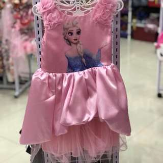 Pink Frozen Dress