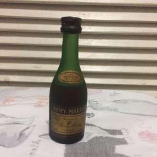 Vintage Miniature Remy Martin Glass Bottle