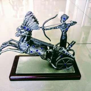 🚚 埃及銀製馬車