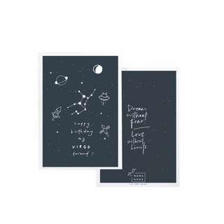 Horoscope Birthday Cards Virgo-Sagittarius