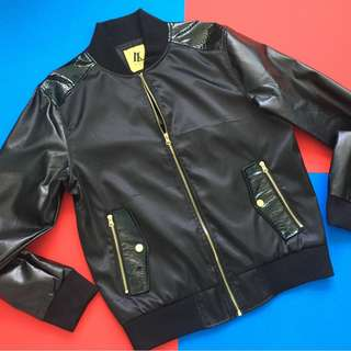 AKA Lounge Akademiks Faux Leather Jacket (shipping included)