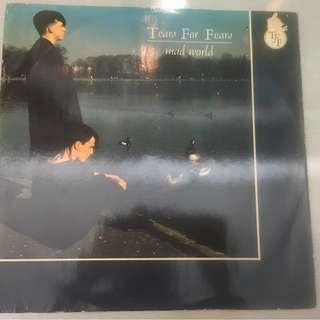 "Tears For Fears – Mad World, 12"" Single Vinyl, Mercury – idea 312, 1982, UK"