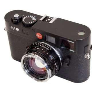 voigtlander nokton 40mm f1/2 for m/mount Leica new.