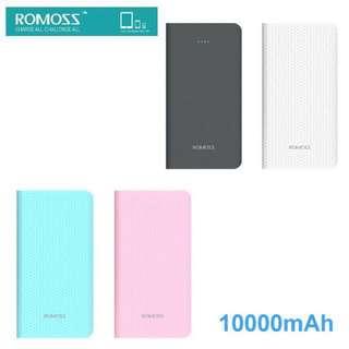 ROMOSS Sense 10 10000mAh 外置充電器 雙向快充 充電器 充電寶 尿袋 Power Bank PHP10
