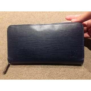 Authentic LV Epi Wallet Dark Blue