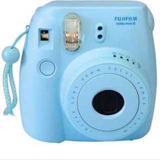 INSTAX MINI8 blue