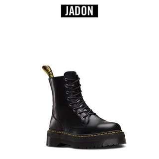 🚚 全新正品🖤Dr.Martens JADON 限定熱銷款 英國 馬汀大夫 JADON 黑 漆牛皮 厚底 英倫 龐克