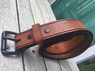 Tanner Goods Leather Belt
