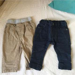 From UK New Boys Jeans 3-6m