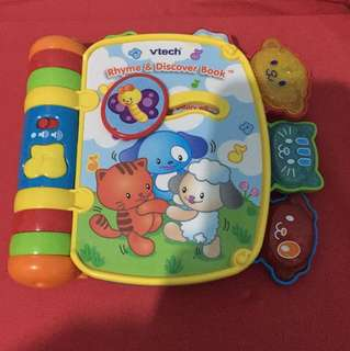 Vtech discovery book