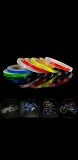 Auto/Motor reflective strip decoration