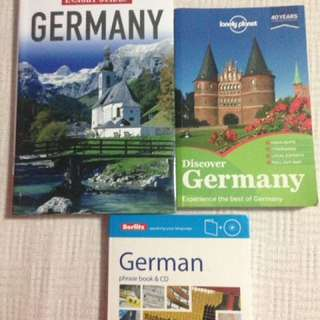 Germany travel books!