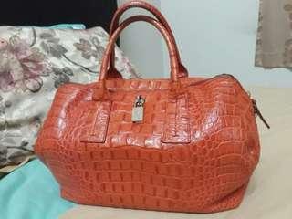 Authentic Furla Handbag (Genuine Leather)