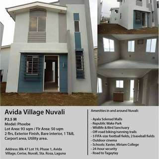 House and Lot for sale @ Nuvali