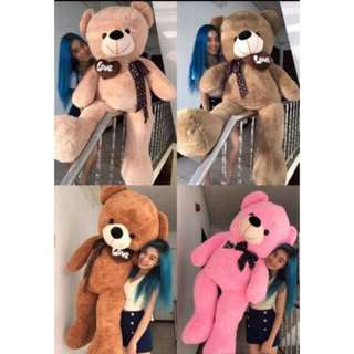 5FT HUMAN SIZE TEDDY BEAR