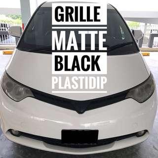 Toyota Estima Plastidip Mobile Service Plasti Dip