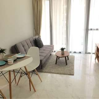 One Bedroom furnished with Housekeeping Service