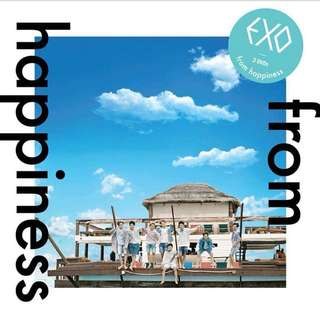 EXO – FROM HAPPINESS DVD