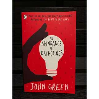 An Abundance of Katherines novel by John Green