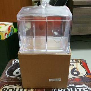BNIB - Makeup storage box