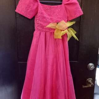 PreLoved Filipiniana Gown