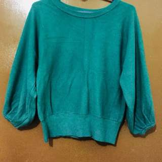 Korean cotton pullover