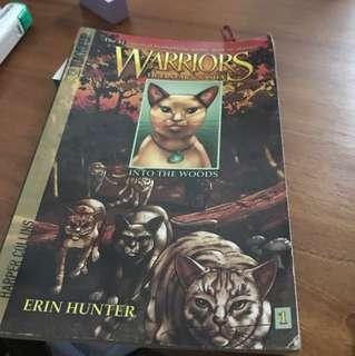 Warrior cats manga