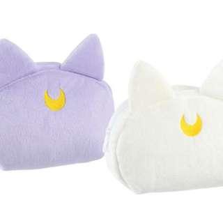 瑪姬店日本正品Sailor Moon 美少女戰士27/1一番賞Ë賞露娜亞提密斯化妝袋收納袋