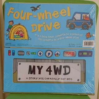 Convertible: My 4WD Board Book