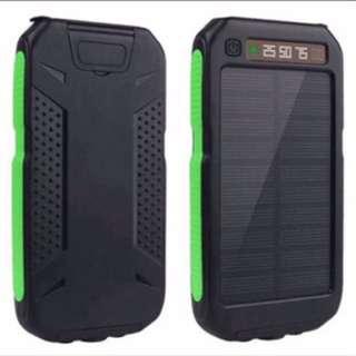 Brand New 30000mAh Waterproof Solar Powerbank / Power Bank / Portable Charger