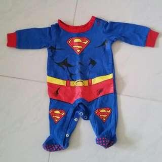 Superman Baby Romper 0-3 Month