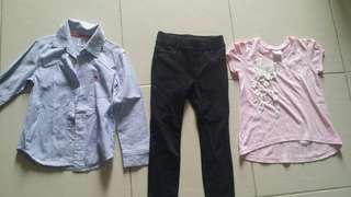 Girls clothing 4-5T
