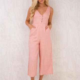 Pink midi Playsuit