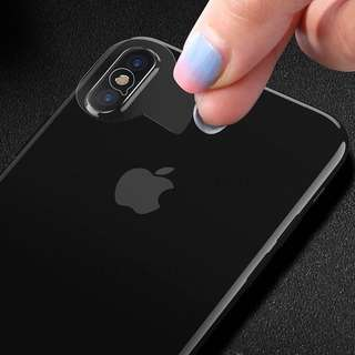🚚 IPhone X camera lens tempered glass protector