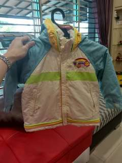 Kids wear jacket for 100cm
