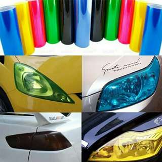 Sticker lampu 3 layer