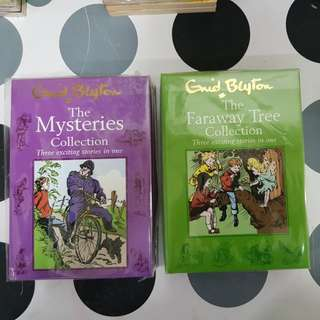 1) The Mysteries Collection   2) The Faraway Tree Collection