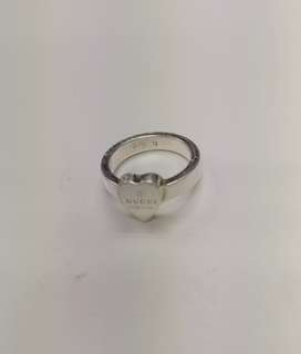 Gucci 925 silver heart ring