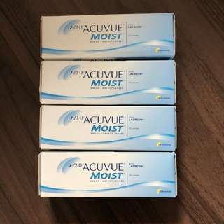1 Day Acuvue Moist -3.00 BC9.0 contact lens