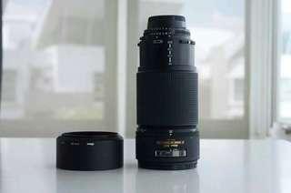 Nikon Nikkor AF 80-200 zoom lens