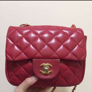Chanel vintage mini bag 中古