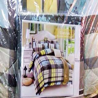 High Quality KING SIZE 6 in 1 Comforter Set Bedsheets
