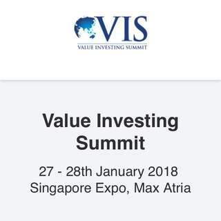 Value Investing Summit 2018